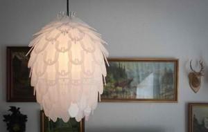 Mirrored-charming-acrylic-lamp-shades-by-Jonas-Lonborg